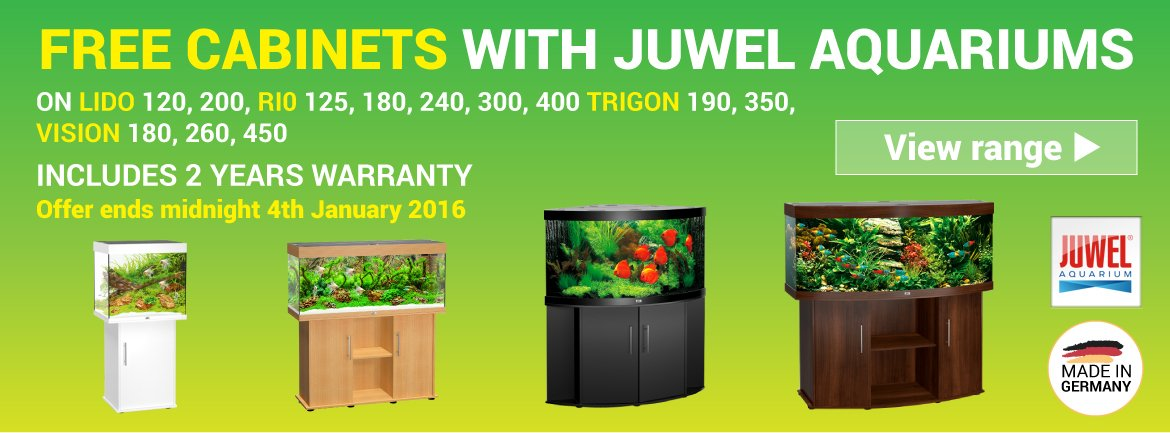 Free Cabinet with Juwel Aquariums