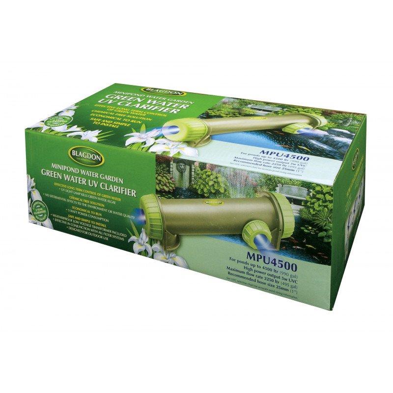 Blagdon Minipond Green Water Uv Light Clarifier 9w Mpu6000