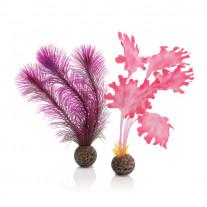 BiOrb Pink Kelp - Artificial Aquarium Plants - Small