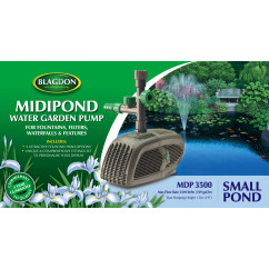 Blagdon MidiPond 3500 Pond Pump - Water Features & Gardens