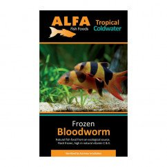 Alfa Gamma Frozen 100g Blister Pack - Blood Worm
