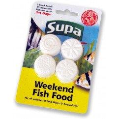 Supa Aquatic Supplies Weekend Fish Food 4 x 6g