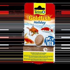TetraFin Goldfish Holiday Gel Tab Food (2 Pots)
