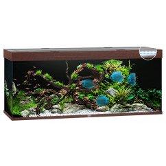 Juwel Rio 400 Aquarium  Dark Wood
