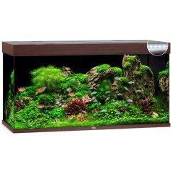 Juwel Rio 350 Aquarium - Dark Wood