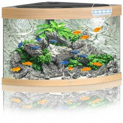 Juwel Aquariums Trigon 190 LED light wood