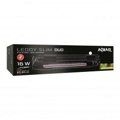 AquaEl Leddy Slim Duo 16W Sunny & Plant Black Aquarium Light 40-60CM (115558)