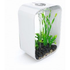 biOrb Life 45 Litre Aquarium with Multi Colour lighting - White, Black or Transparent