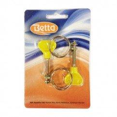 Betta Delux 19mm Double Wire Clip x 2