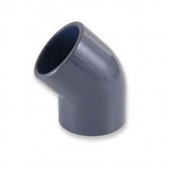 25mm 45 Degree Elbow (Solvent Weld)