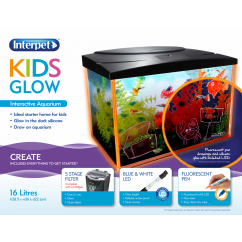 Interpet Kids Glow Aquarium 16L
