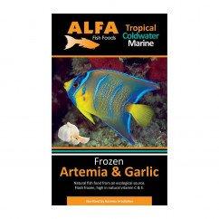 Alfa Gamma Frozen 100g Blister Pack - Artemia & Garlic