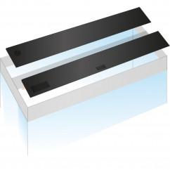 Juwel Flap Set 120 x 40 black