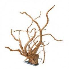 Wood Root & Slate Rock 45-60cm Single Piece