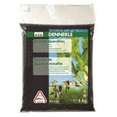 Dennerle Quartz Gravel 5kg - Diamond Black