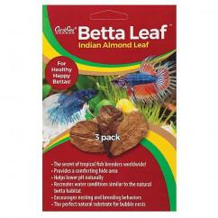 Caribsea Planted Aquaria Betta Leaf Indian Almond Leaf 3pk (00650)