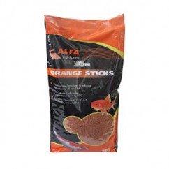 Alfa Pond Fish Orange Sticks 5kg Koi & Other Pond Fish Food