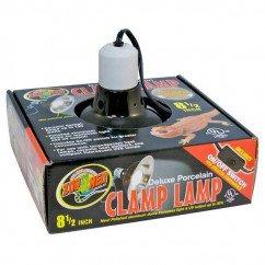 Zoo Med Deluxe Porcelain Clamp Lamp 22cm LF-12EC