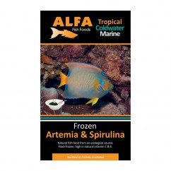 Alfa Gamma Frozen 100g Blister Pack - Artemia & Spirulina