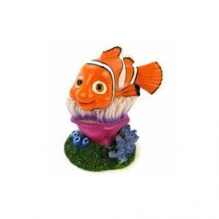 Finding Nemo On Anemone Aquarium Ornament