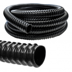 Black Heavy Ribbed Kink Free Pond Hose - 1 inch (25mm) (Per Metre)