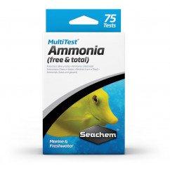 Seachem Multi Test Ammonia Test Kit