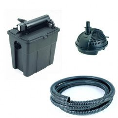 Pontec MultiClear 8000 Garden Pond UVC Filter Set