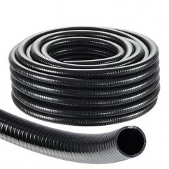 "Black Spiral Pond Hose Heavy Duty 1"" (25mm)  (Per Metre)"