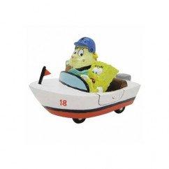 Spongebob Squarepants & Mrs Puff In Boat Ornament