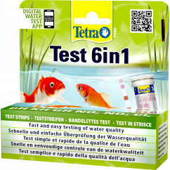 TetraPond Quick Test 6 in 1