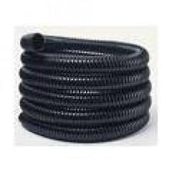 Black Ribbed Kink Free Pond Hose - 1 inch (Per Metre)