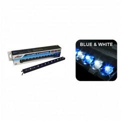 "Wave Point LED Aquarium Airstone Blue & White 6""/15cm"