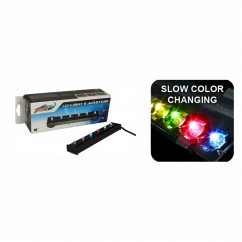 """Wave Point LED Airstone Slow Colour Changing 6""""/15cm"""