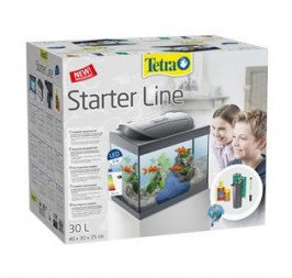 Tetra Aquarium Starter Line LED 30 Litre (273344) Black