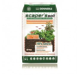 Dennerle Scapers Soil 1-4mm 4L - Black