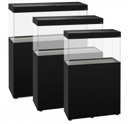 AquaEl OPTI SET Aquariums & Cabinets (Black and White Options)
