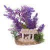 Penn Plax Purple Plant & Ruins
