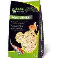 Alfa Pond Fish Sticks 5kg Koi & Other Pond Fish Food