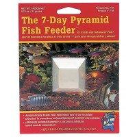 API 7 Day Pyramid Fish Feeder - Tropical, Coldwater & Marine