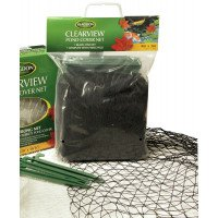 Blagdon Pond Cover Net 3m x 2m - Black Fine Net With Pegs