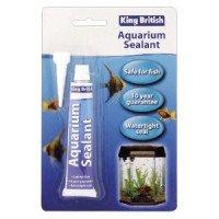 King British Aquarium Silicone Glue & Sealant 78g