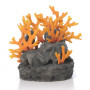 BiOrb Samuel Baker Aquarium Lava Rock & Fire Coral Sculpture