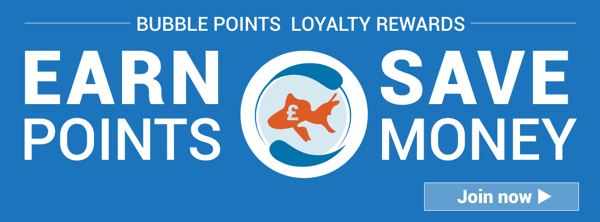 Bubble Points Loyalty Scheme | Warehouse Aquatics